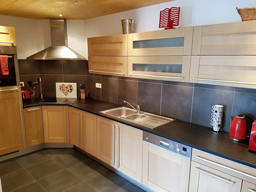 Fully equipped kitchen ideal for self-catering